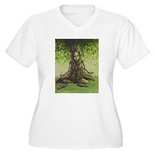 Meditation Plus Size T-Shirt