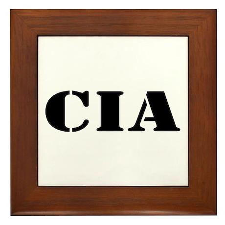 CIA Framed Tile