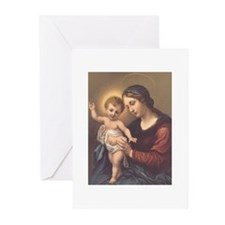 Mary and Jesus Greeting Cards (Pk of 10)