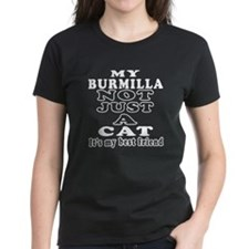 Burmilla Cat Designs Tee