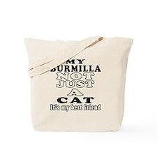 Burmilla Cat Designs Tote Bag