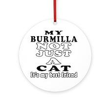 Burmilla Cat Designs Ornament (Round)