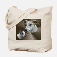 Whippet - Sight Hound - Show Dog Tote Bag