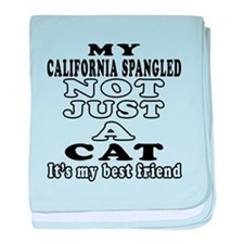 California Spangled Cat Designs baby blanket
