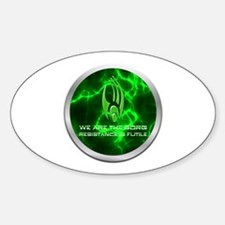 Borg Emblem Sticker (Oval)