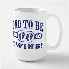 Dad To Be Twins 2018 Mug