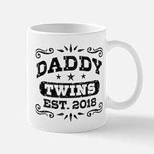 Daddy Twins Est. 2018 Mug
