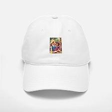Jesus with the Children Baseball Baseball Cap