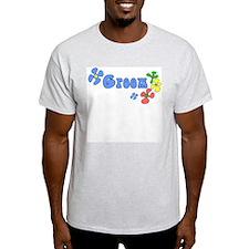 Disco Groom Ash Grey T-Shirt