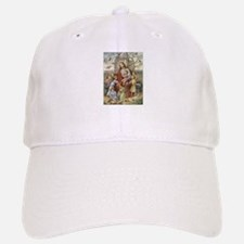 Jesus and Children Baseball Baseball Cap