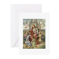 Jesus and Children Greeting Cards (Pk of 10)