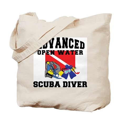Advanced SCUBA Diver Tote Bag