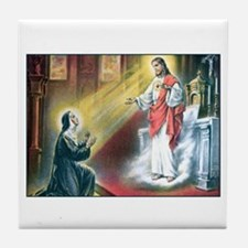 St. Margaret Mary Tile Coaster