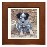 Dog agility Framed Tiles