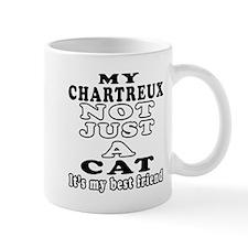 Chartreux Cat Designs Small Mug