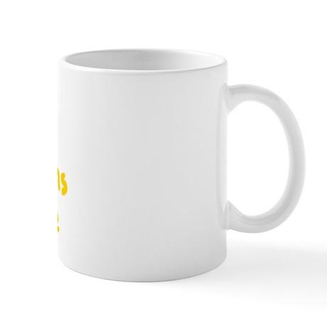 Cairn Terrier Peeing Cairns Rule Mug