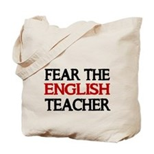FEAR THE ENGLISH TEACHER 2 Tote Bag