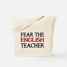 FEAR THE ENGLISH TEACHER 2 Tote Bag