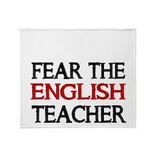 FEAR THE ENGLISH TEACHER 2 Throw Blanket