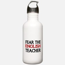 FEAR THE ENGLISH TEACHER 2 Water Bottle