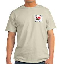 Dive Master SCUBA Ash Grey T-Shirt
