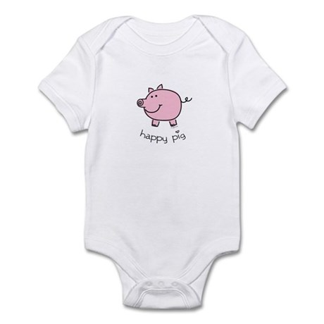 Happy Pig Infant Bodysuit