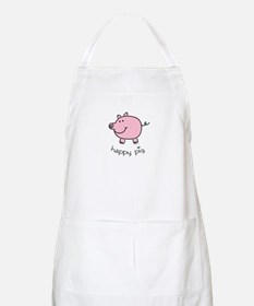 Happy Pig BBQ Apron