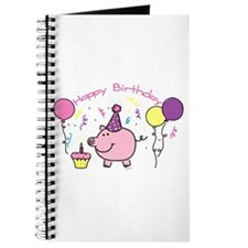 Girl Happy Birthday Journal