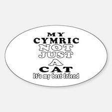 Cymric Cat Designs Decal