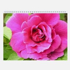 Year of Flowers Wall Calendar