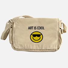 ART IS COOL 2 Messenger Bag