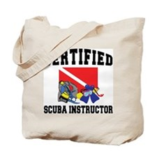 Certified SCUBA Instructor Tote Bag