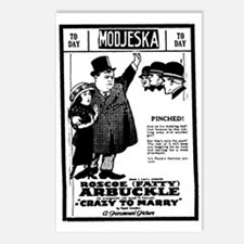 Fatty Arbuckle Postcards (Package of 8)