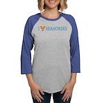LOVE-SEAHORSES-TR.png Womens Baseball Tee