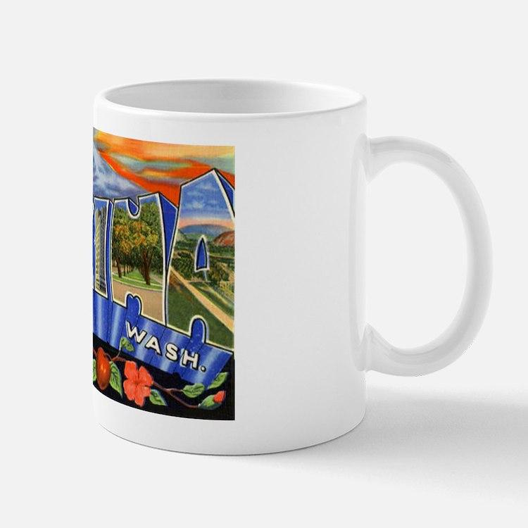 Yakima Washington Greetings Mug