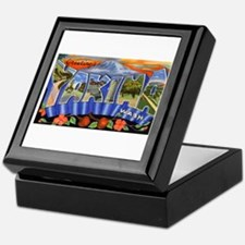 Yakima Washington Greetings Keepsake Box