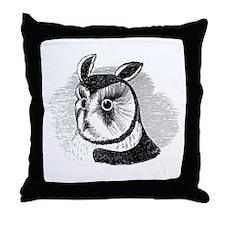 La Chouette Throw Pillow