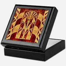 Harvest Moons Art Deco Keepsake Box