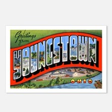 Youngstown Ohio Greetings Postcards (Package of 8)