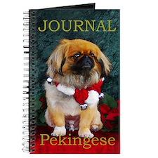 Pekingese Christmas Pumpkin Journal