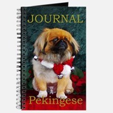 Pekingese Christmas Pumpkin Journal