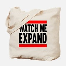 Watch Me Expand Tote Bag