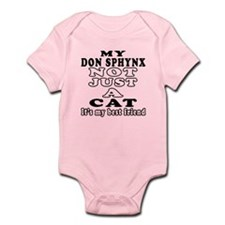 Don Sphynx Cat Designs Infant Bodysuit