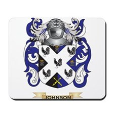 Johnson Coat of Arms (Family Crest) Mousepad