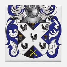 Johnson Coat of Arms (Family Crest) Tile Coaster