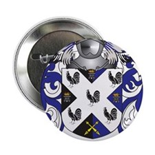 "Johnson Coat of Arms (Family Crest) 2.25"" Button"