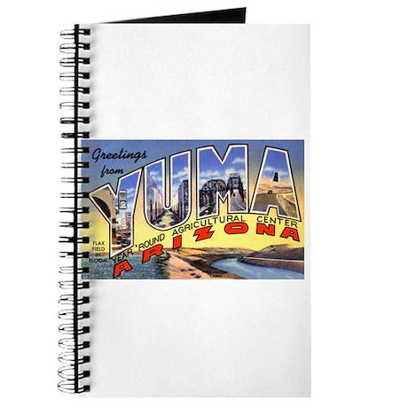 Yuma Arizona Greetings Journal