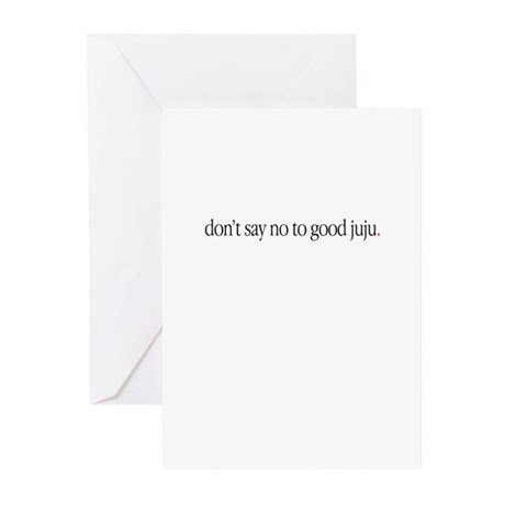 """Ju Ju / Grey's"" Greeting Cards (Pk of 10)"