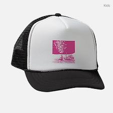 lunar-rover-love-pink.gif Kids Trucker hat