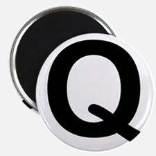 Letter Q Magnet